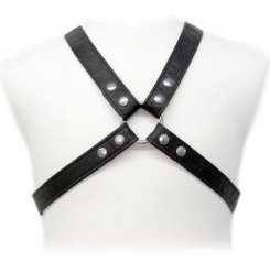 Body Leather Basic Harness In Garment