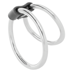 Darkness Double Metal Ring  Penis
