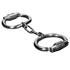 Metal Hard Handcuffs With Combination...