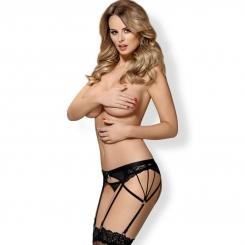 Obsessive - 854-gar-1 Garter And Thong...