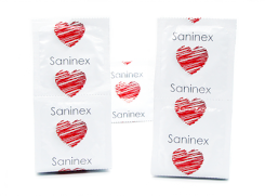 Saninex Condoms Music Dotted 3 Units